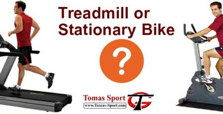 treadmill or stationary bike