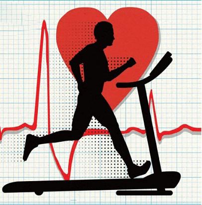 ضربان قلب مناسب در هنگام استفاده از تردمیل